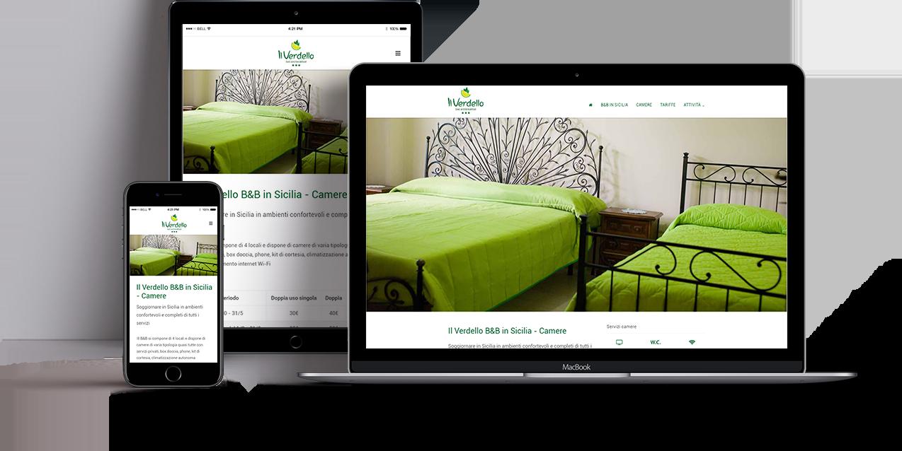 creazione sito web il verdello page