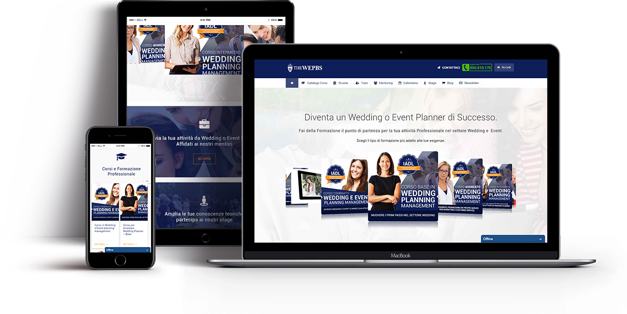 creazione sito web scuola wepbs