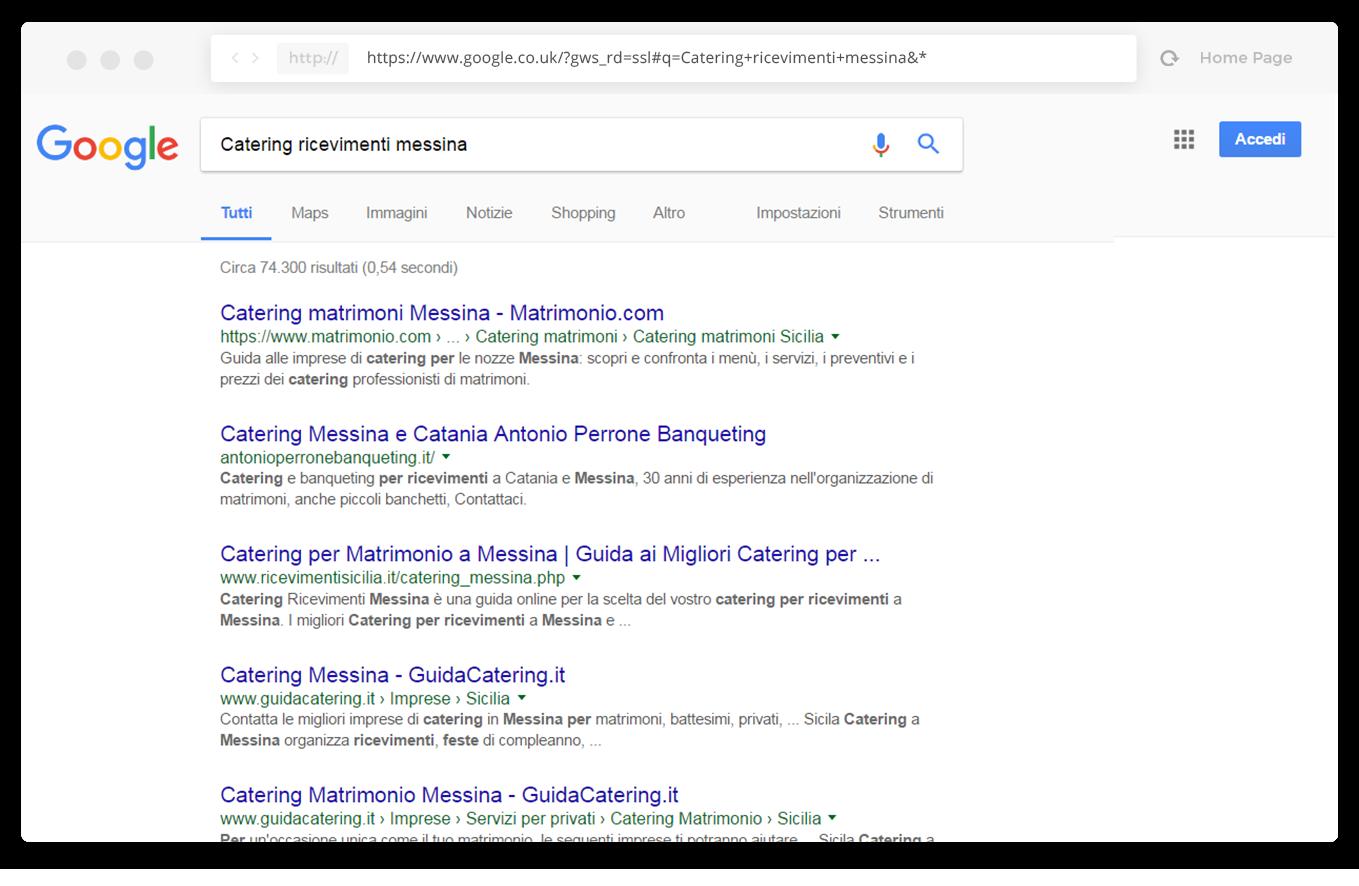 seo google posizionamento motori di ricerca
